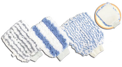 Microfiber wash mitt MWM-9005