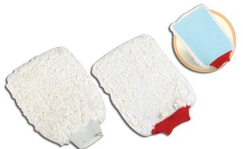 Microfiber wash mitt MWM-9008