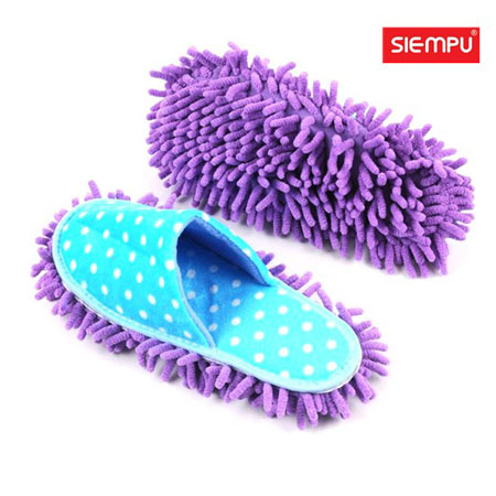 Microfiber Chenille Cleaning Slipper (XQH-C028)