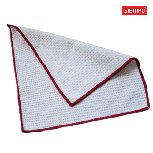 Microfiber Pineapple Grid Square Cleaning Cloth (XQH-C005)