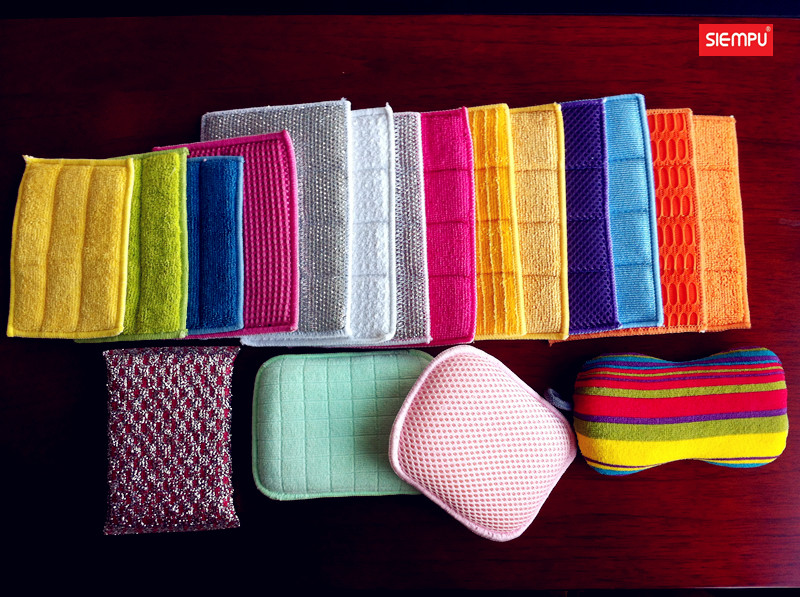 Microfiber Dish Cleaning Sponges/Pads