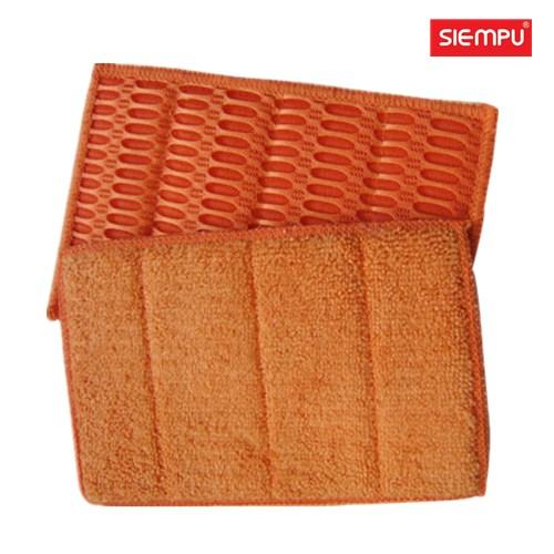 Microfiber Dish Cleaning Sponge Pad (XQK-C012)