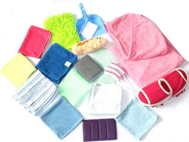 Microfiber home cleaning package XQT-001