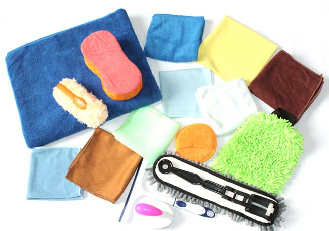 Microfiber car care package XQT-002